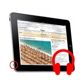 Cambio Conector Auriculares con Micròfono iPad