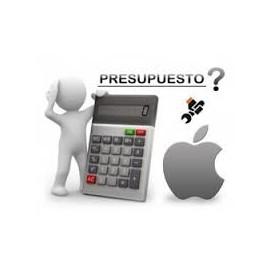 Presupuesto Reparación iPad 4